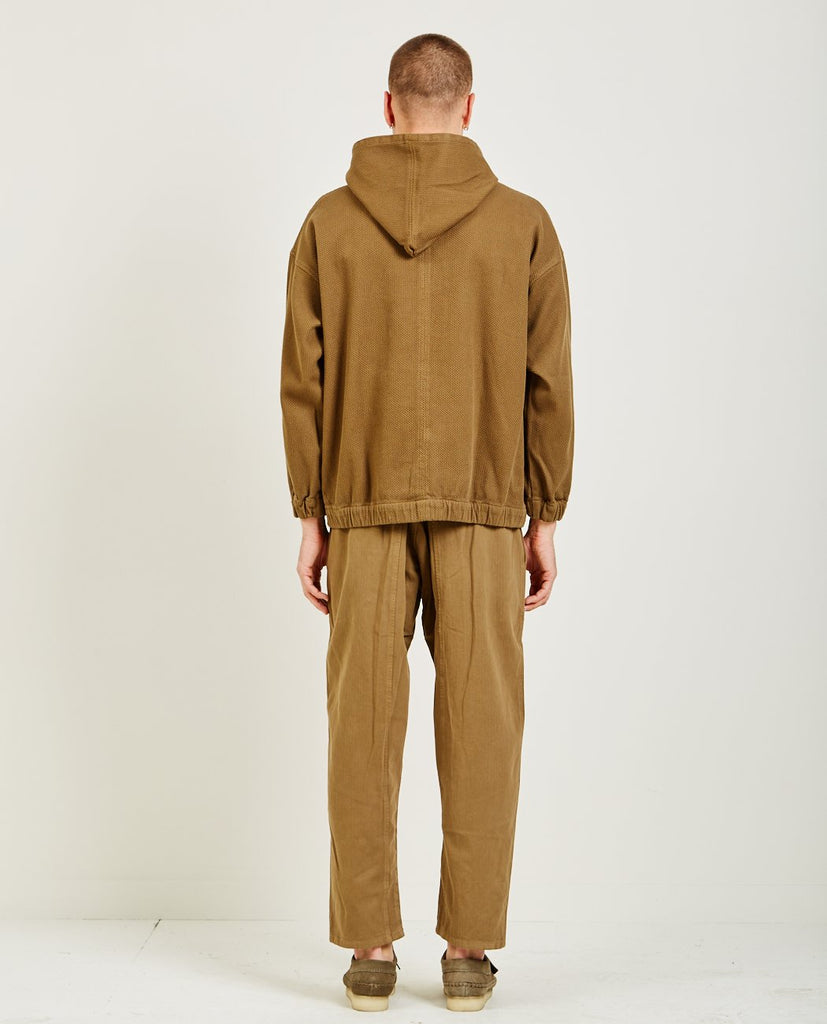 WOVEN HOODIE OLIVE-PROSPECTIVE FLOW-American Rag Cie