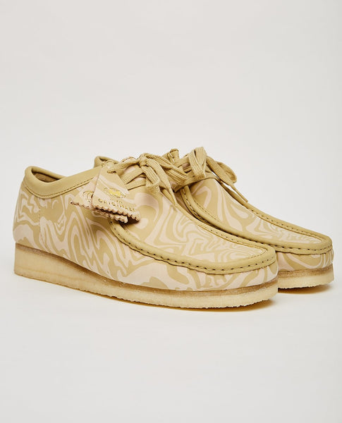 CLARKS ORIGINALS WU WEAR WALLABEE LO MAPLE
