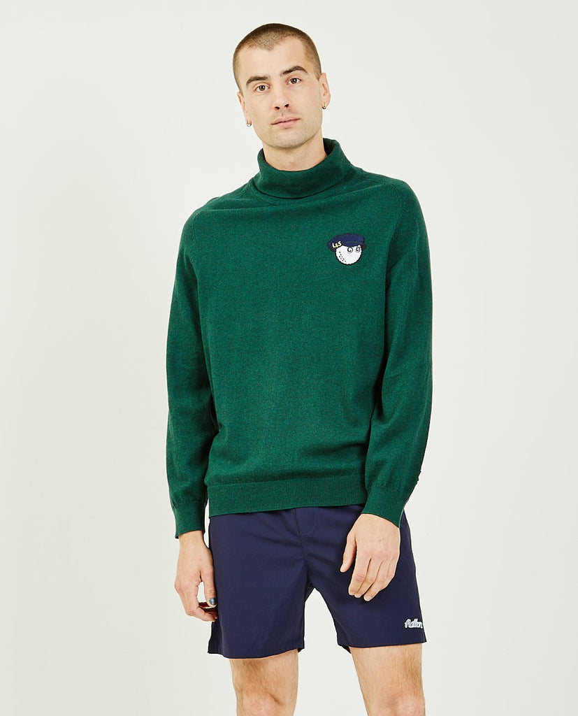 MALBON GOLF-x Lyle & Scott Rollneck-Men Sweaters + Sweatshirts-{option1]