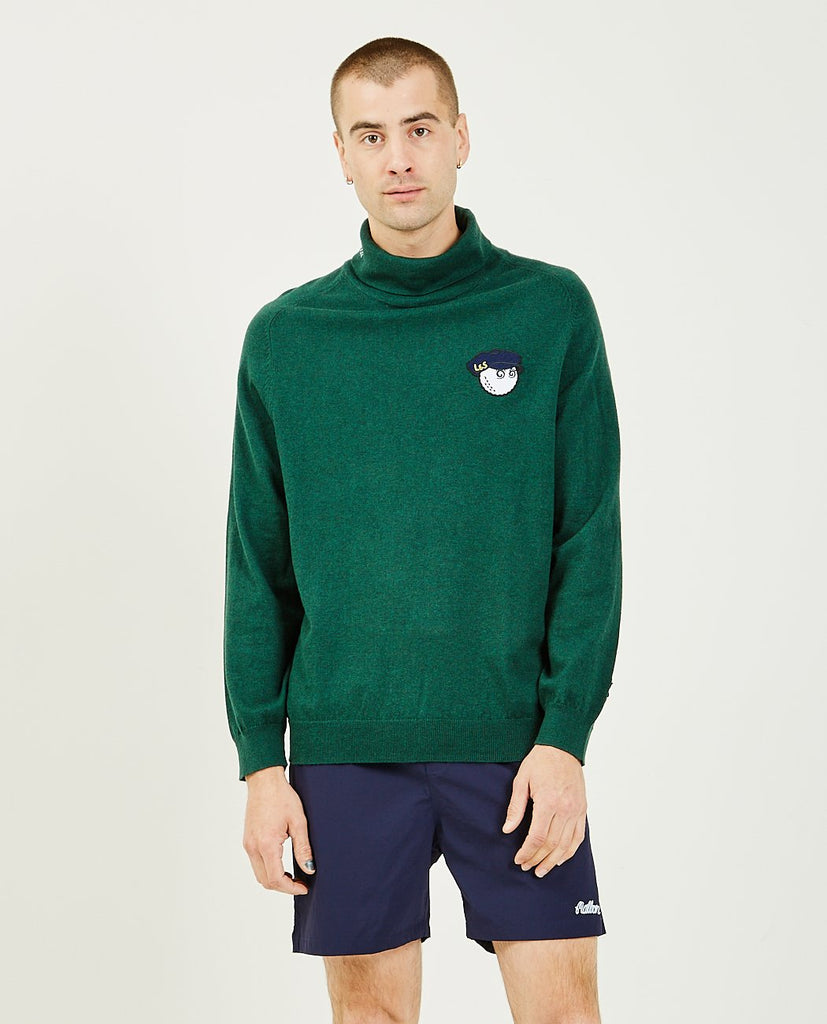 MALBON GOLF x Lyle & Scott Rollneck