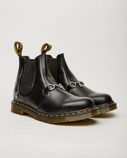 DR. MARTENS x Needles 2976 Snaffle Chelsea Boot Black