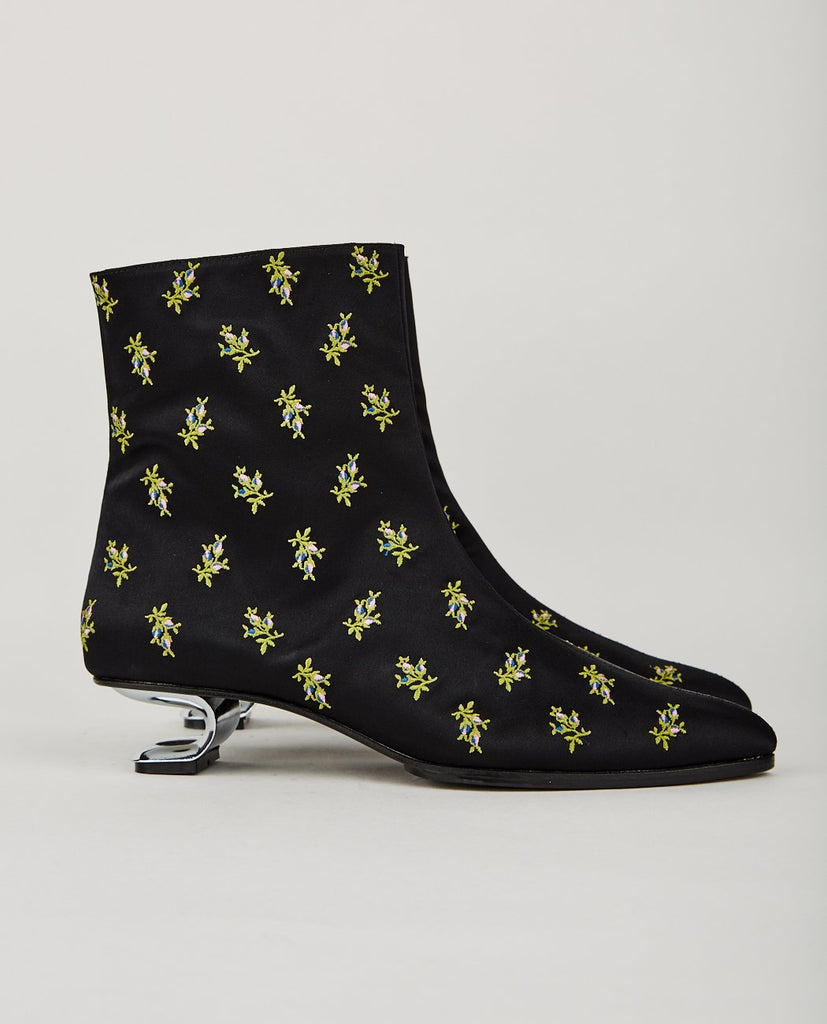 NICOLE SALDAÑA-YENNA FLORAL PATTERN BOOT-Women Boots-{option1]