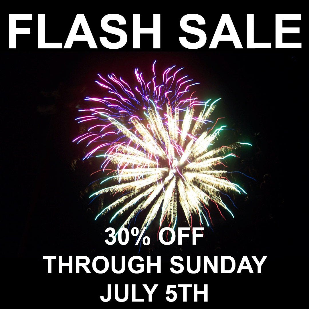 30% OFF THROUGH JULY 5TH