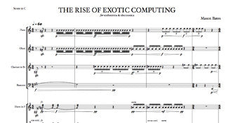 The Rise of Exotic Computing