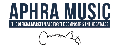 Aphra Music | Home of Composer Mason Bates' Entire Catalog