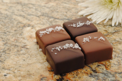 12 Piece Sea Salt Caramel Checkerboard