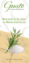 Gusto Rosemary Sea Salt Bar