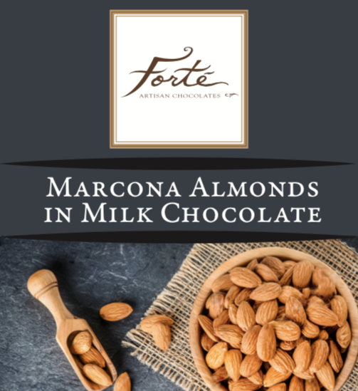 Marcona Almonds in Milk Chocolate