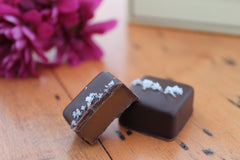 Dark Sea Salt Caramels