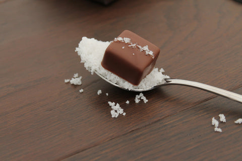 Milk Sea Salt Caramels