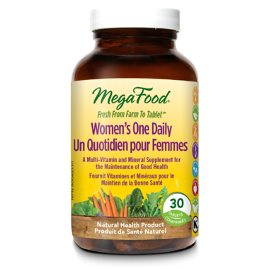 MegaFood Women One Daily Multi-Vitamin 30 Tablets