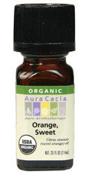 Orange Sweet, Organic Essential Oils