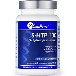 CanPrev 5-HTP 60 Vegetable Capsules