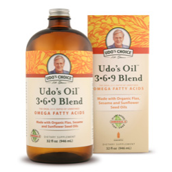 Udo's Choice Oil Blend 3.6.9Click here for more information