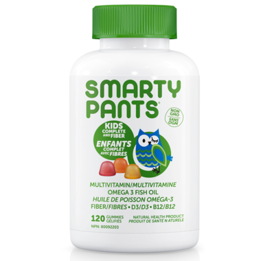 SmartyPants Kids Complete Plus Fiber 120 Gummies