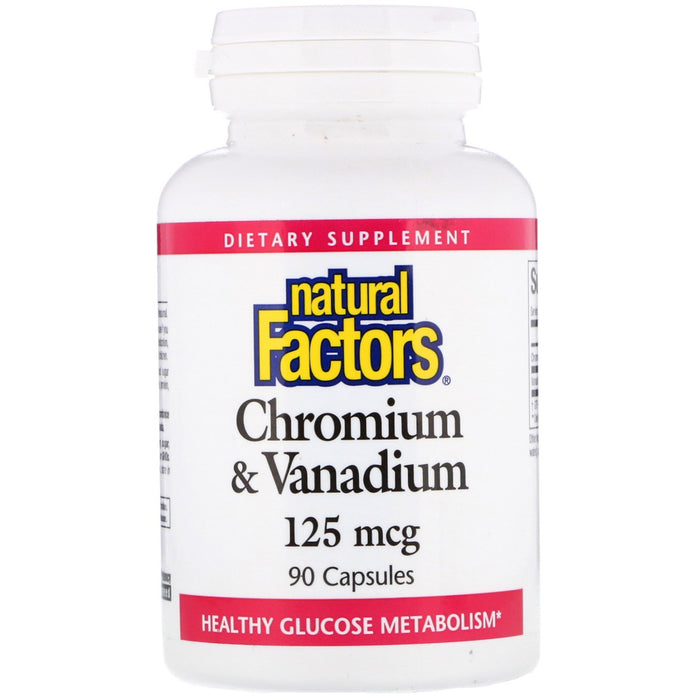 Chromium & Vanadium 100mcg/25mcg