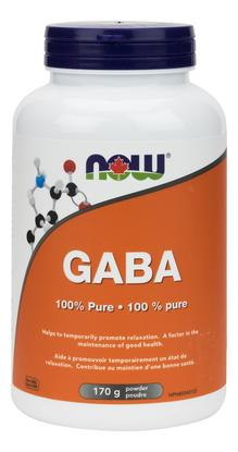 NOW Gaba Powder 170 g