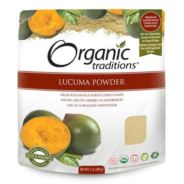 Organic Traditions Lucuma Powder 200g