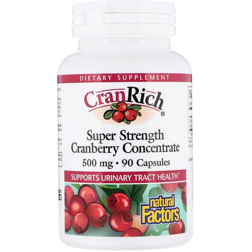 Cranrich Super Strength Cranberry Concentrate 500mg