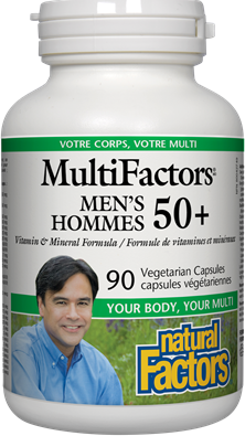 MultiFactors® Men's 50+ Multi Vitamin