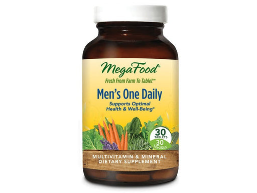 MegaFood Men One Daily Multi-Vitamin 30 Tablets