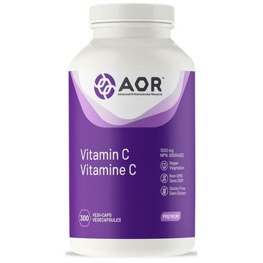 AOR Vitamin C 1000mg 300Caps