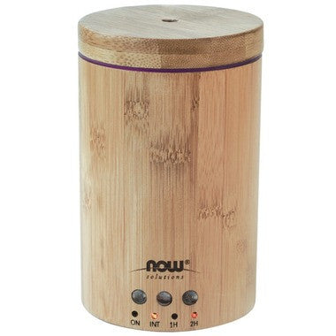 Now Solutions Real Bamboo Ultrasonic Oil Diffuser