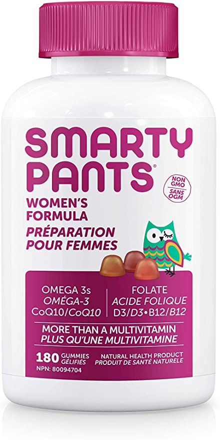 Smarty Pants Women's Complete Multivitamin 180 Gummies