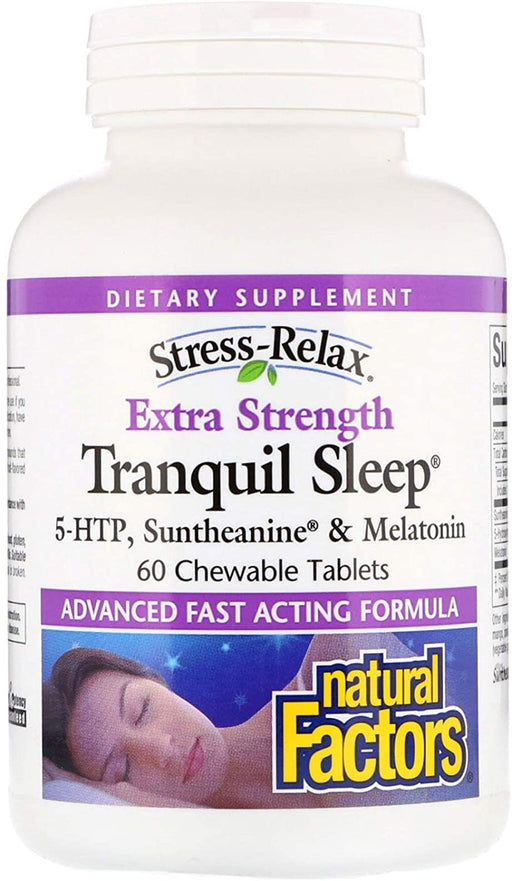 Tranquil Sleep Extra Strength, Tropical Fruit Flavour