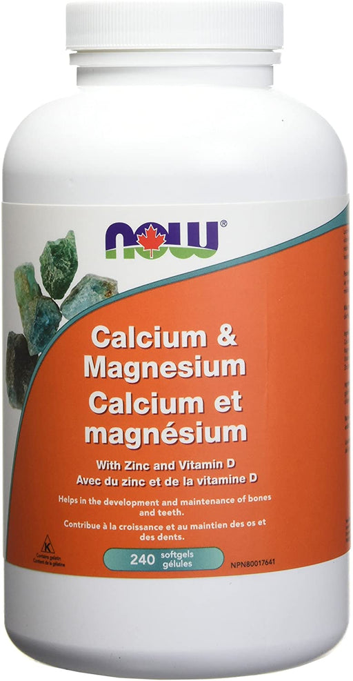 Calcium and Magnesium 240 softgels