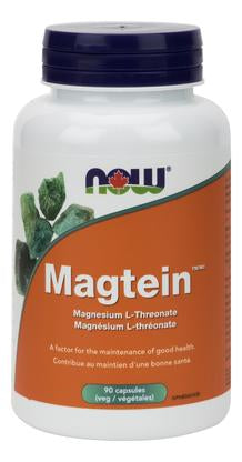 NOW Magtein Magnesium L-Threonate 90 V-Caps