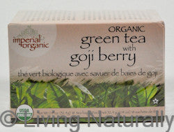 Organic Goji Berry Green Tea
