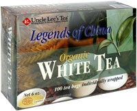 Lgnd Of China Organic Whit Tea
