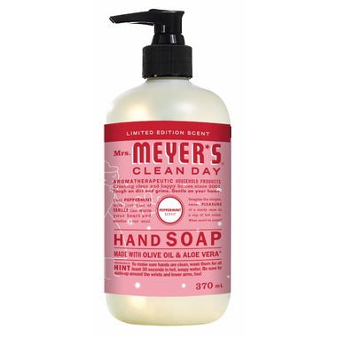 Mrs. Meyer's Clean Day Hand Soap Peppermint 370ML