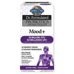 Garden of Life Dr. Formulated Probiotics Mood+ 60 Veggie Capsules