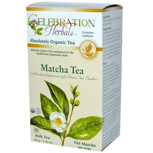 Celebration Herbals, Matcha Tea, Bulk Tea, 1.41 oz (40 g)