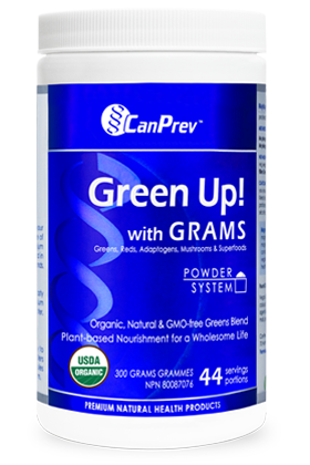 CanPrev Green Up With GRAMS Powder 300g
