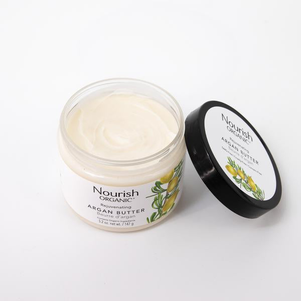 Nourish Organic Rejuvenating Argan Butter 147g