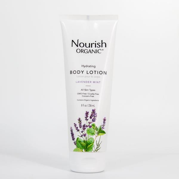 Nourish Organic Hydrating Body Lotion Lavender Mint 236ML