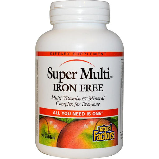 Super Multi® Iron Free