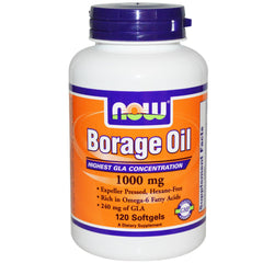 Borage Oil 1000mg 240mg GLA