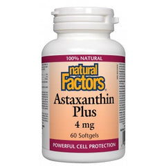Astaxanthin Plus 4mg, 60 Softgels
