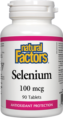 Natural Factors Selenium 100 mcg 90 Tablets
