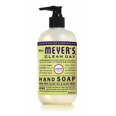 Mrs. Meyer's Clean Day Hand Soap Lemon Verbena 370ml