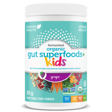 FERMENTED ORGANIC GUT SUPERFOODS+ KIDS - GRAPE 85G