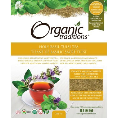 Organic Traditions Holy Basil Tulsi Tea 200g