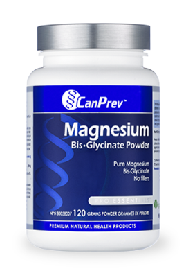 CanPrev Magnesium Bis-Glycinate Powder 120 g