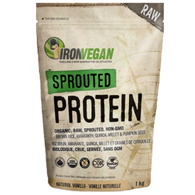 Iron Vegan - Sprouted Protein Natural 1kg