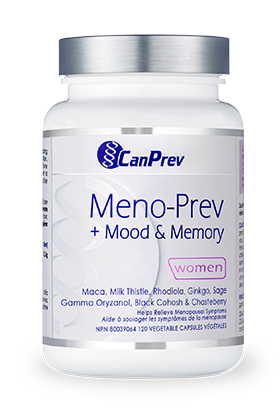 CanPrev Meno-Prev + Mood & Memory 120 Vegetable Capsules