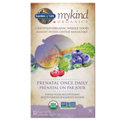mykind Organics Prenatal Once Daily Multi 30 Vegan Tablets